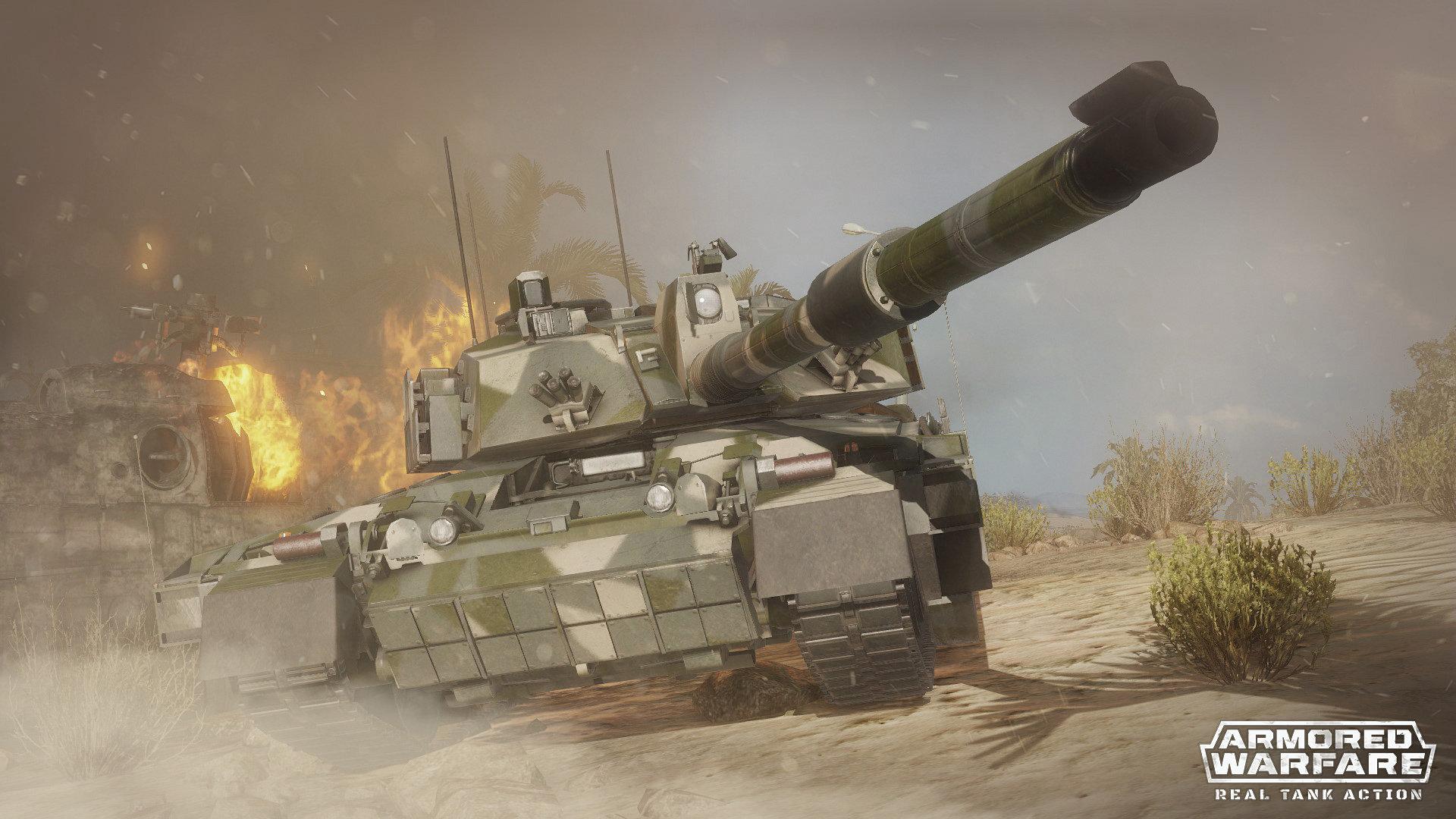 Armored Warfare Install Size Screenshot