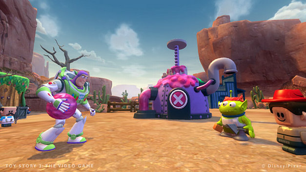 toy story 3 the video game game ps3 playstation. Black Bedroom Furniture Sets. Home Design Ideas