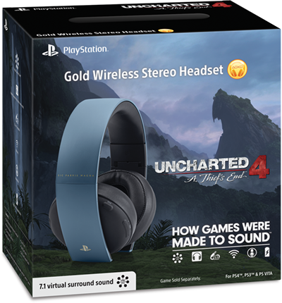 playstation gold wireless stereo headset manual