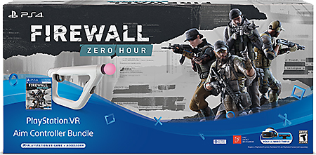 Firewall Zero Hour PS VR Aim Controller Bundle
