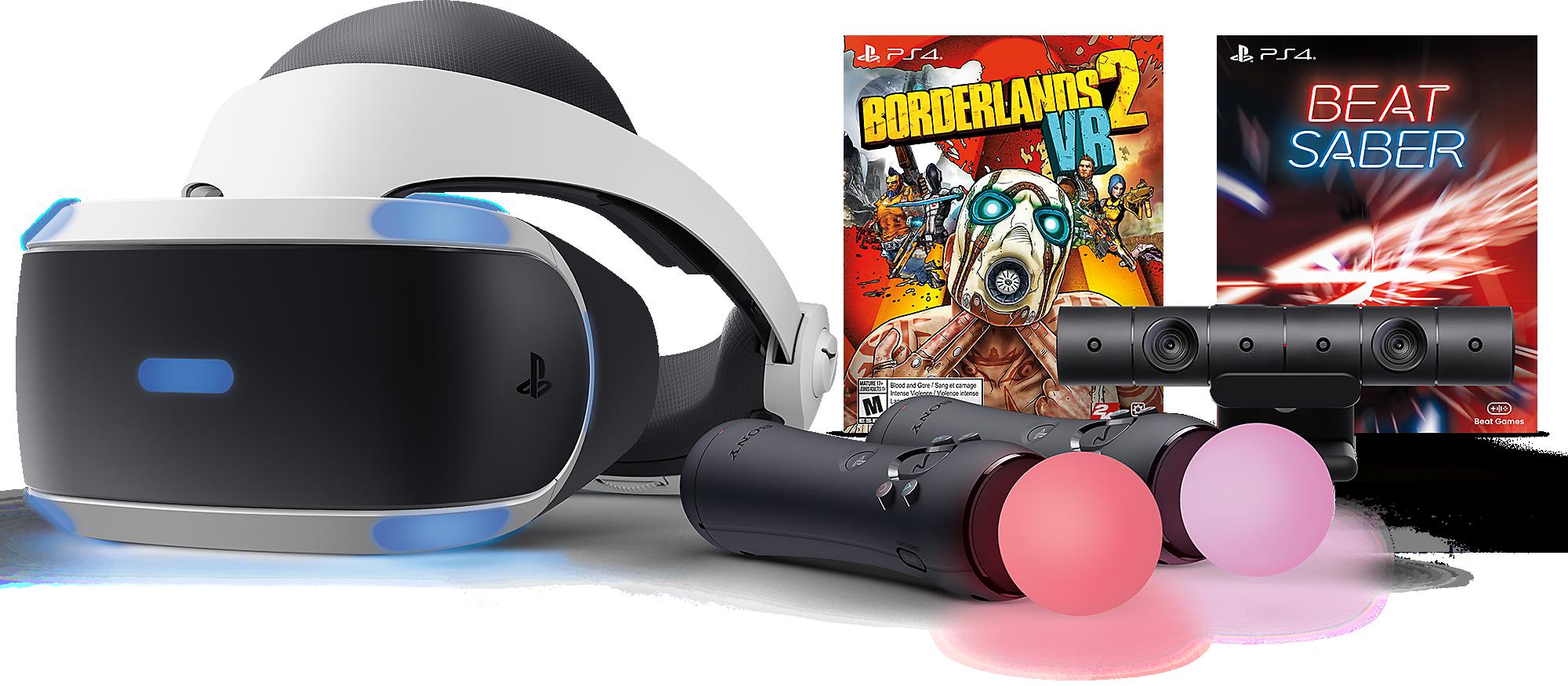 Borderlands 2 and Beat Saber VR Bundle art