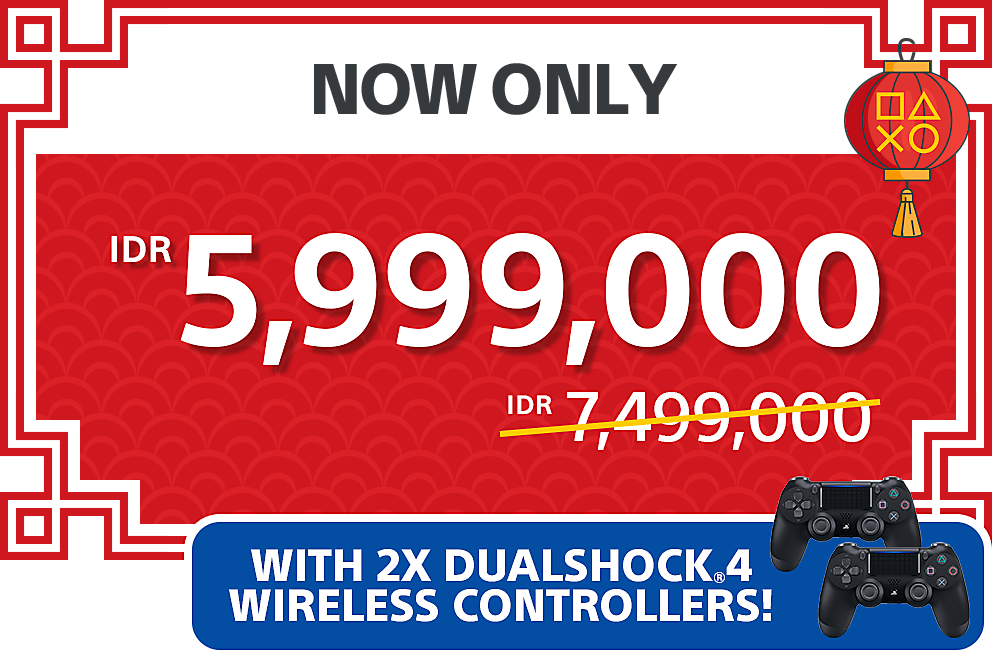 PlayStation 4 Pro Party Bundle Pack - IDR 5,999,000