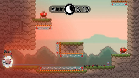 10 Second Ninja X Trailer Screenshot