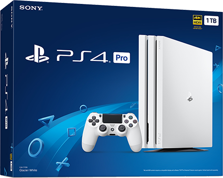 1tb glacier white ps4 pro. Black Bedroom Furniture Sets. Home Design Ideas