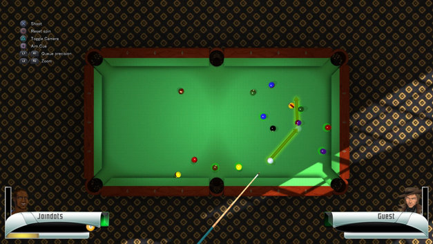 3D Billiards Screenshot 1