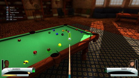 3D Billiards Trailer Screenshot
