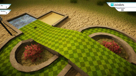 3D MiniGolf Trailer Screenshot