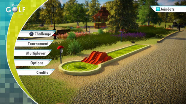3D MiniGolf Screenshot 1
