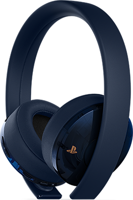 500 Million Limiited Edition Gold Wireless Headset - PlayStation