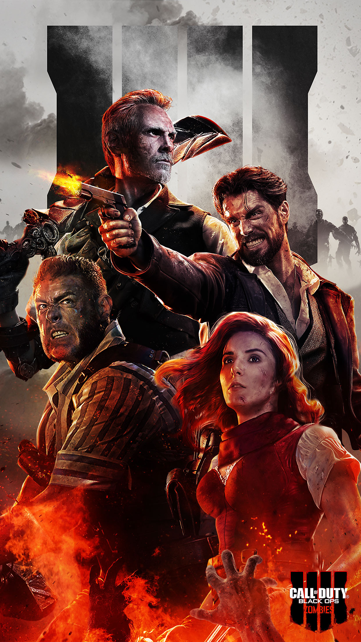 Call of Duty: Black Ops 4 Zombies Mobile Wallpaper 1