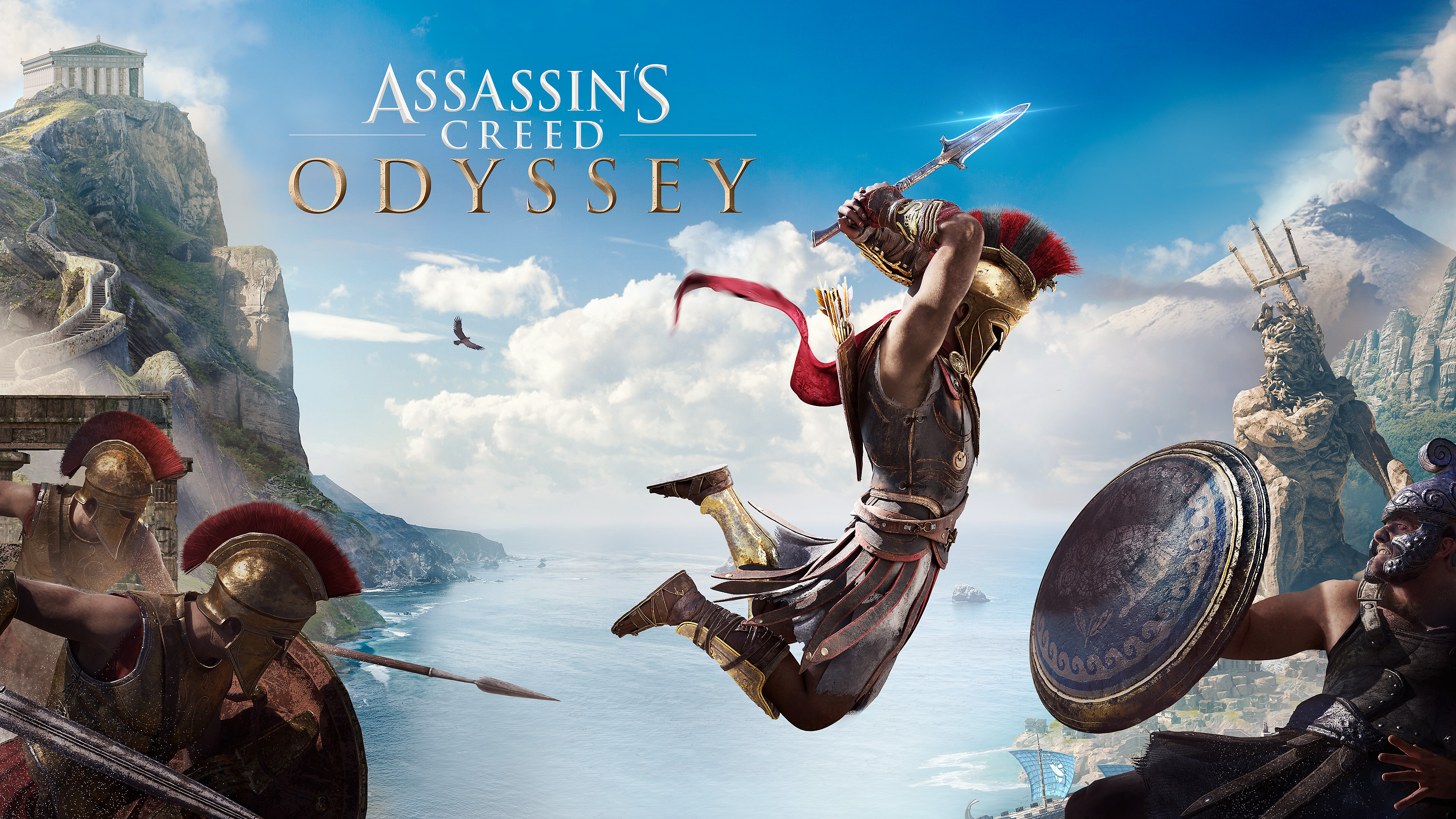 Countdown To Launch Assassin S Creed Odyssey Playstation