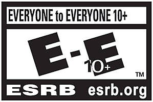 ESRB Rated E-E10+ Rating