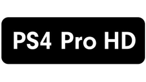 โลโก้ PS4 Pro HD