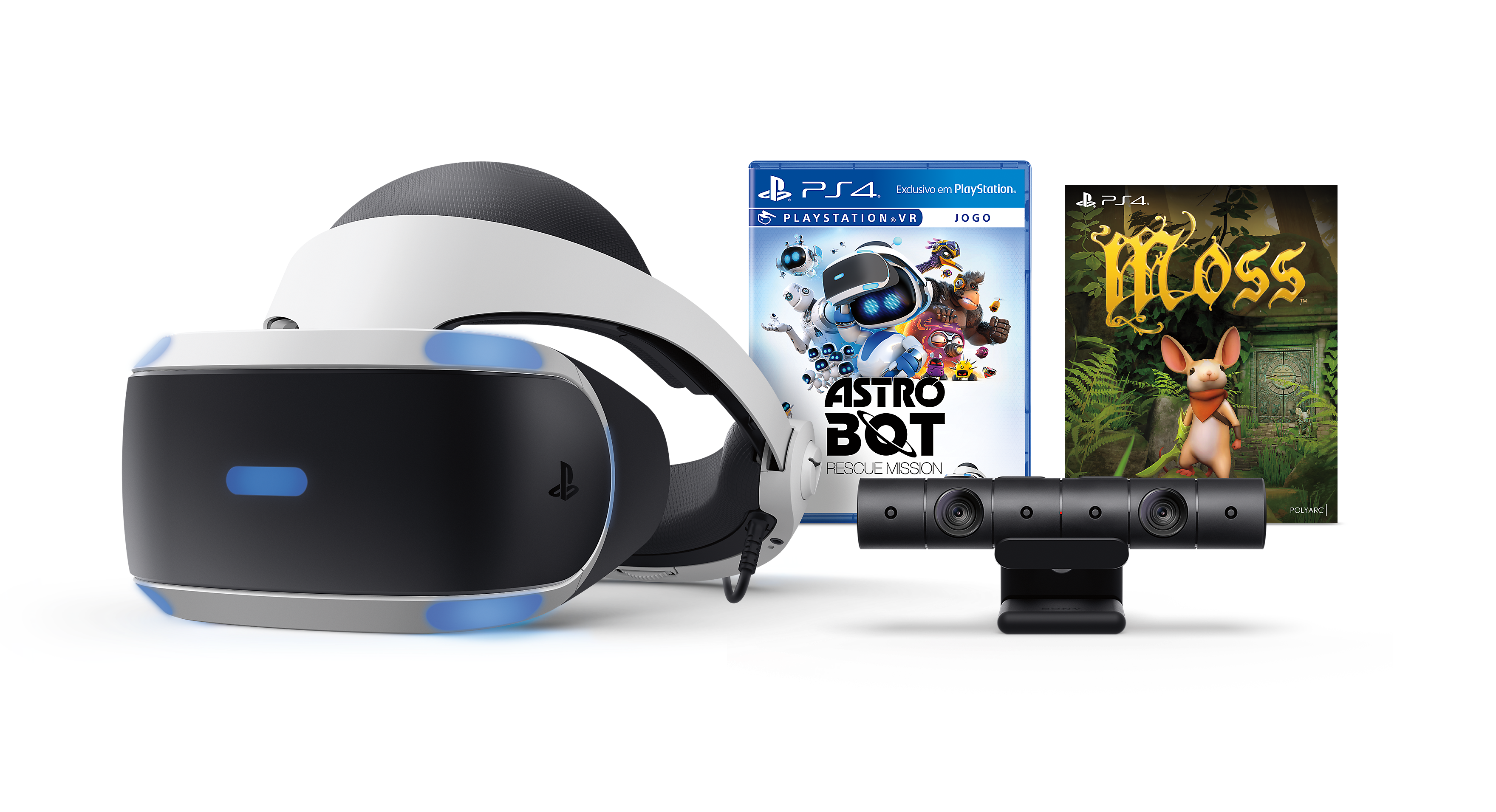 PlayStation VR Blood & Truth + Everybody's Golf Bundle Product Shot