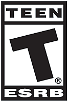 ESRB - Rated T for Teens and above