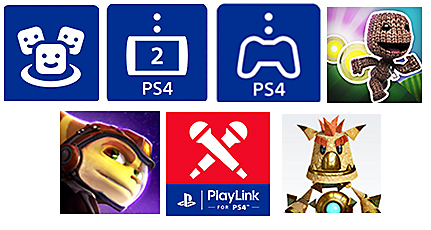 PlayStation Mobile Icons