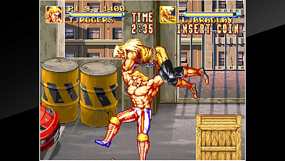 ACA NEOGEO 3 COUNT BOUT - Screenshot INDEX