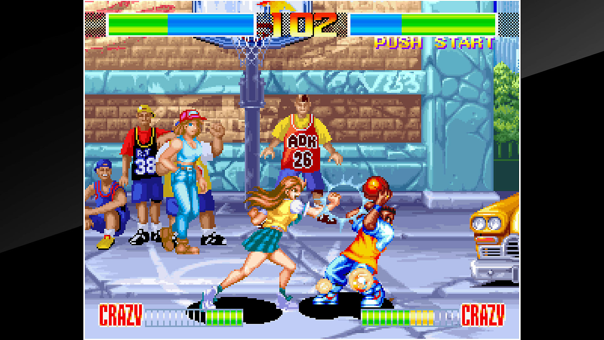 ACA NEOGEO AGGRESSORS OF DARK KOMBAT Gameplay