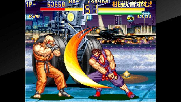 art of fighting 2 neo geo