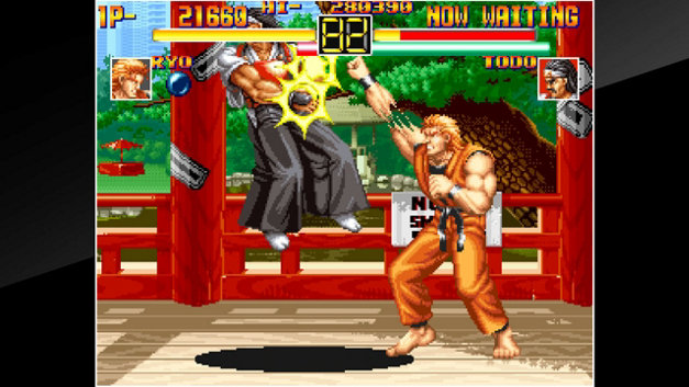 ACA NEOGEO ART OF FIGHTING Screenshot 10