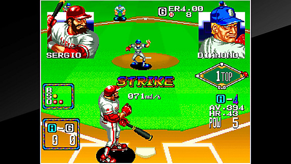 ACA NEOGEO BASEBALL STARS 2 - Screenshot INDEX