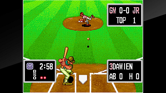 ACA NEOGEO BASEBALL STARS PROFESSIONAL - Screenshot INDEX