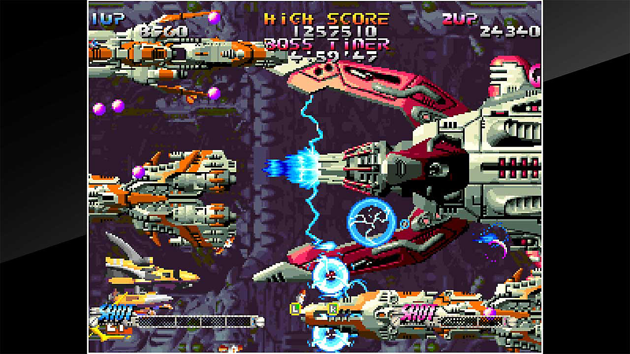 Sidescrolling shooter gameplay