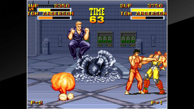 ACA NEOGEO BURNING FIGHT Screenshot 1