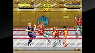 ACA NEOGEO BURNING FIGHT Screenshot 2