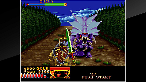 ACA NEOGEO CROSSED SWORDS - Screenshot INDEX