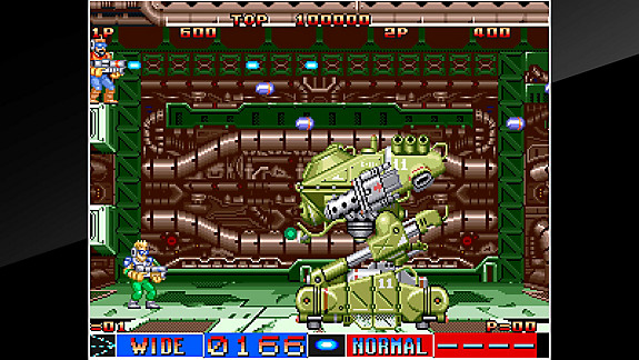 ACA NEOGEO CYBER-LIP - Screenshot INDEX