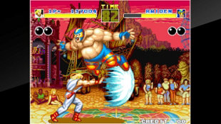 ACA NEOGEO FATAL FURY Screenshot 3