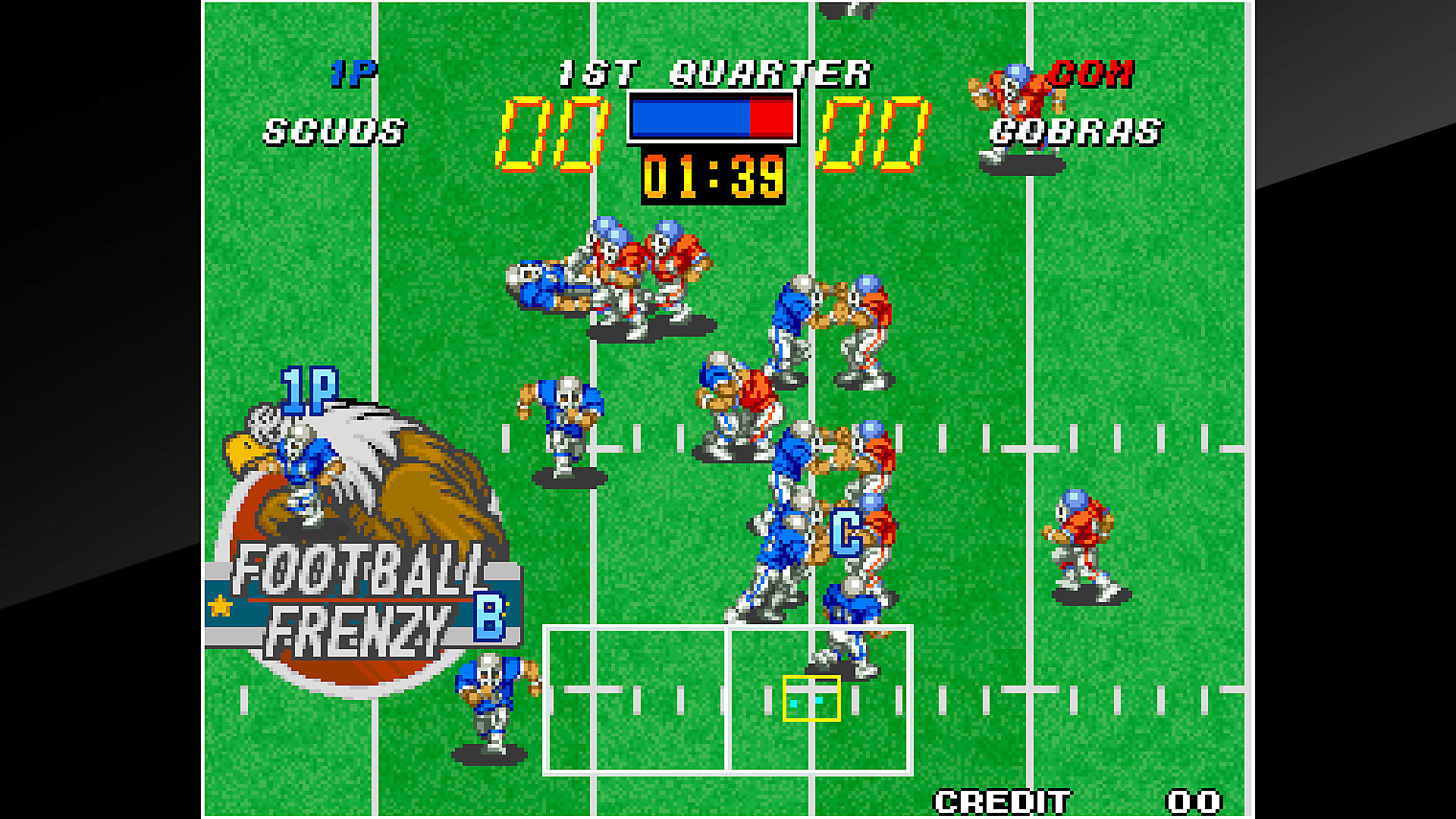 Gameplay de ACA NEOGEO FOOTBALL FRENZY