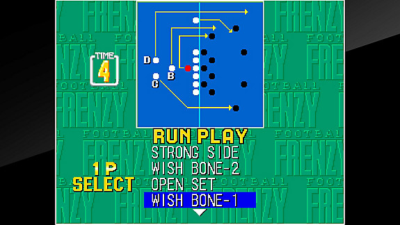 ACA NEOGEO FOOTBALL FRENZY - Screenshot INDEX