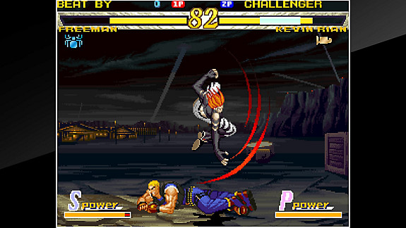 ACA NEOGEO GAROU: MARK OF THE WOLVES - Screenshot INDEX
