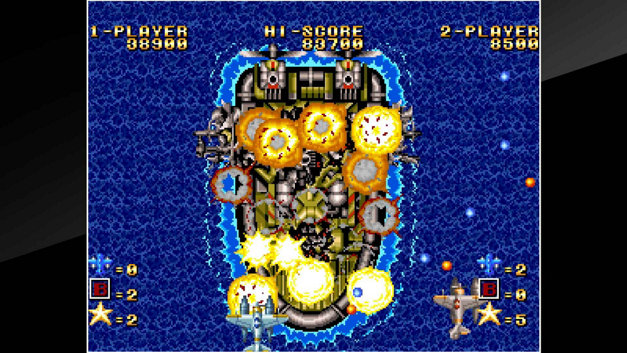 ACA NEOGEO GHOST PILOTS Screenshot 4