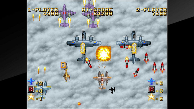ACA NEOGEO GHOST PILOTS Screenshot 1