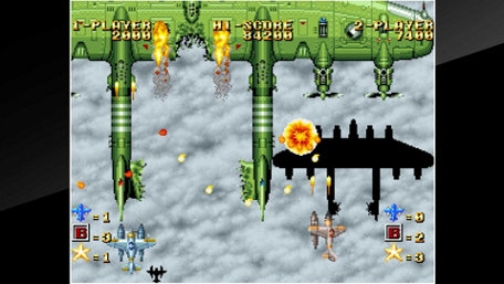 ACA NEOGEO GHOST PILOTS Trailer Screenshot