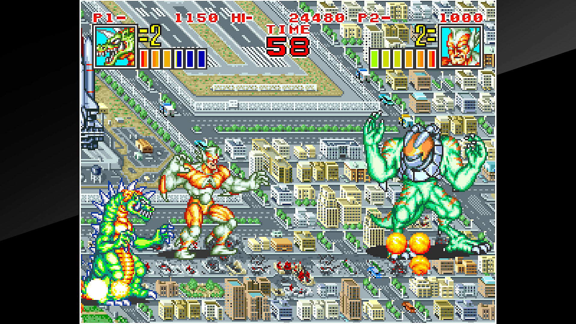 ACA NEOGEO KING OF THE MONSTERS 2 Gameplay
