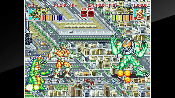 ACA NEOGEO KING OF THE MONSTERS 2 - Screenshot INDEX
