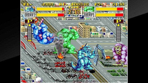 ACA NEOGEO KING OF THE MONSTERS Screenshot 10