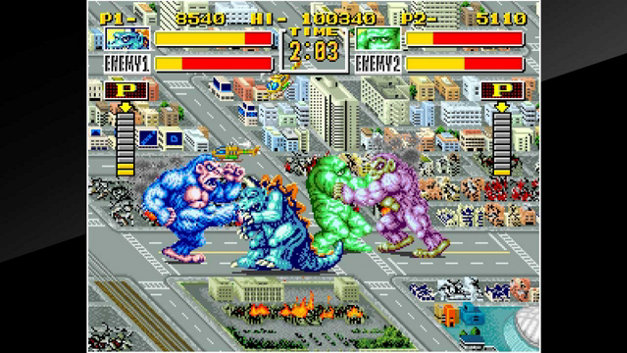 ACA NEOGEO KING OF THE MONSTERS Screenshot 1