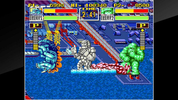 ACA NEOGEO KING OF THE MONSTERS Screenshot 4