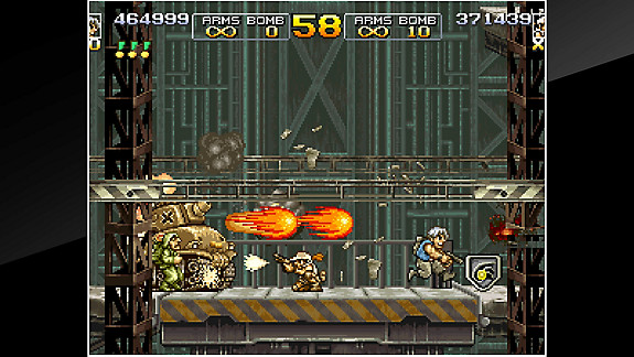 ACA NEOGEO METAL SLUG 4 - Screenshot INDEX