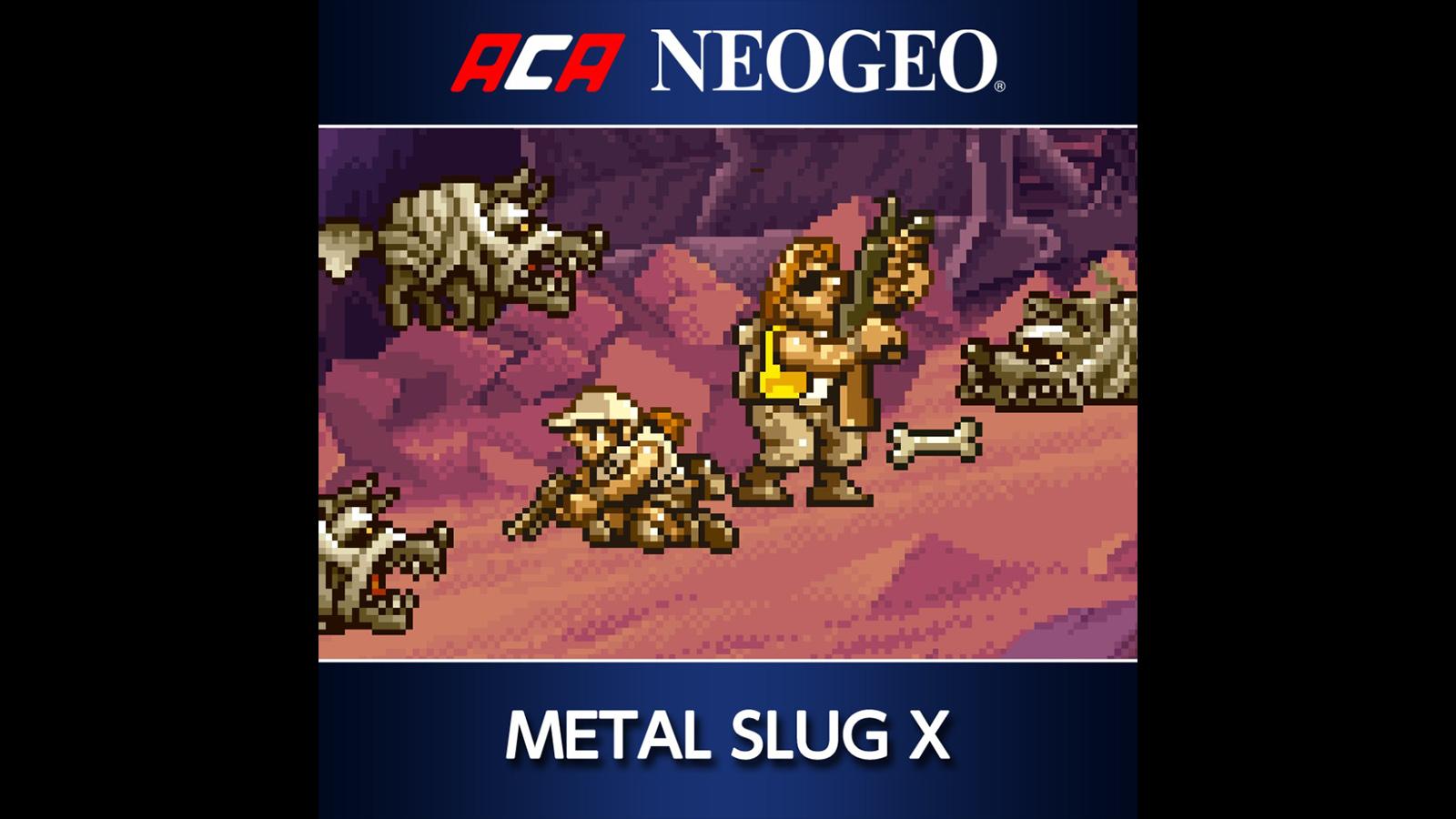 metal slug x neo geo
