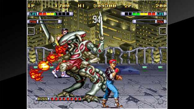 ACA NEOGEO MUTATION NATION Screenshot 1