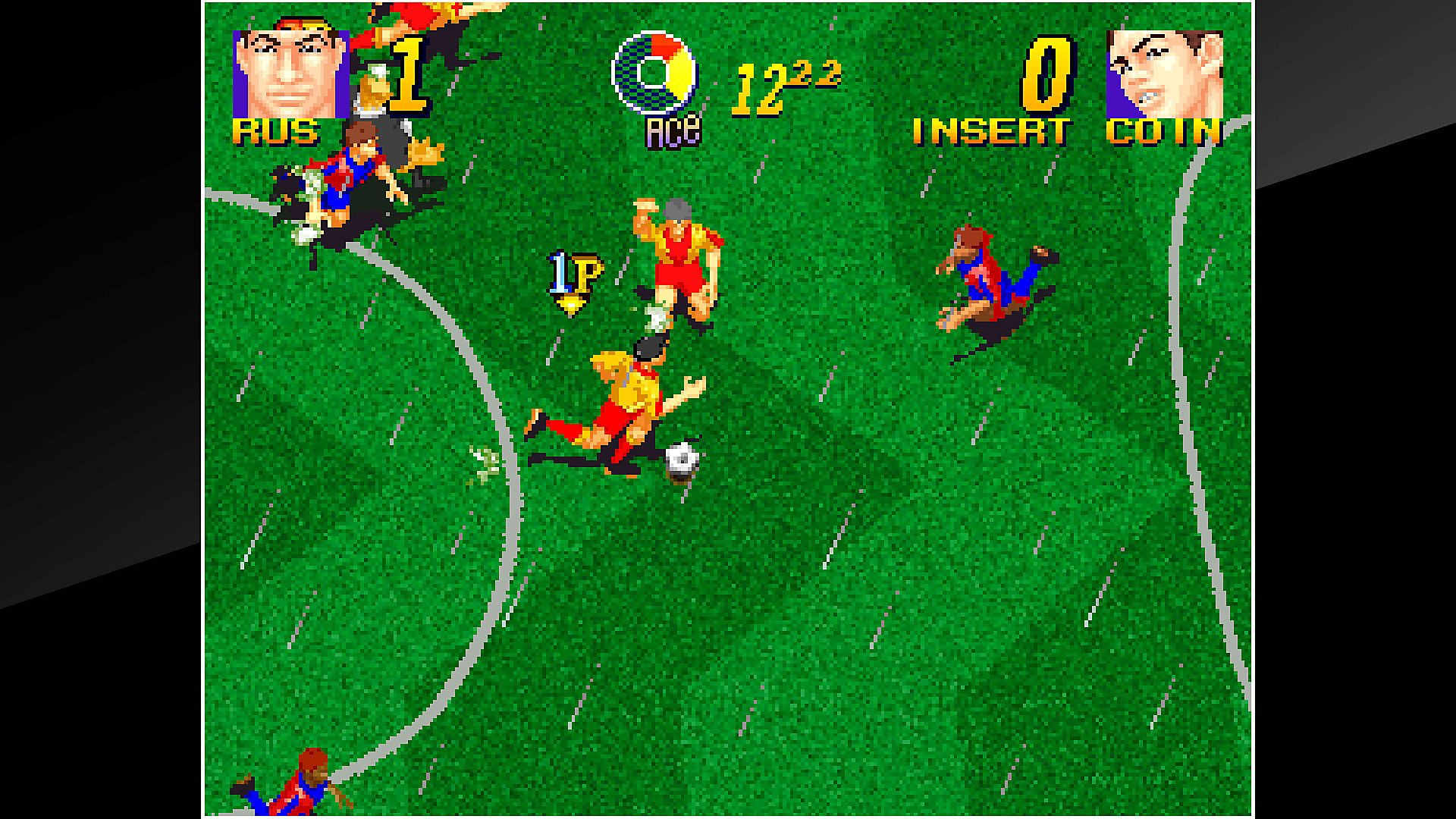 Gameplay de ACA NEOGEO PLEASURE GOAL: 5 ON 5 MINI SOCCER