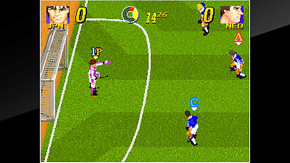 ACA NEOGEO PLEASURE GOAL: 5 ON 5 MINI SOCCER - Screenshot INDEX