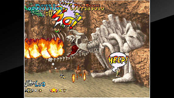 ACA NEOGEO PREHISTORIC ISLE 2 - Screenshot INDEX