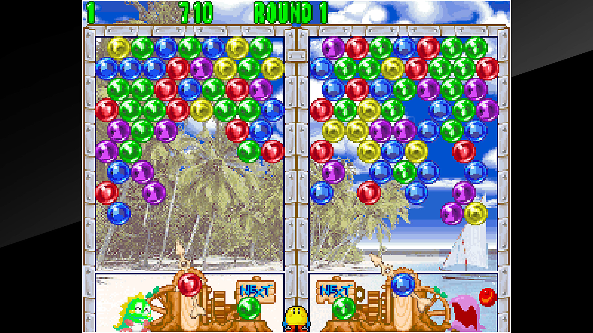 Gameplay de ACA NEOGEO PUZZLE BOBBLE 2